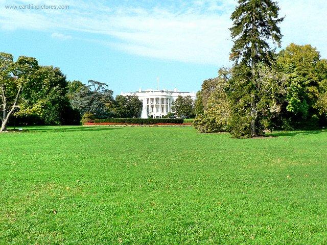 Белия дом озеленяване