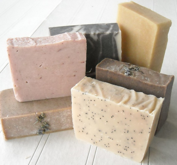 домашно приготвени сапуни