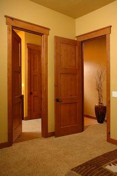 Интериорните врати придават качество на дома ви