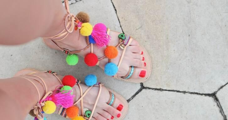 Какви са тенденциите при дамските сандали за лято 2020
