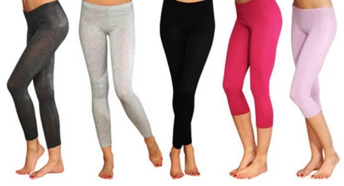 Различни цветове клинове за фитнес за жени