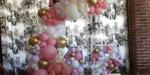 Балонена украса за рожден ден на момиче - 12 години