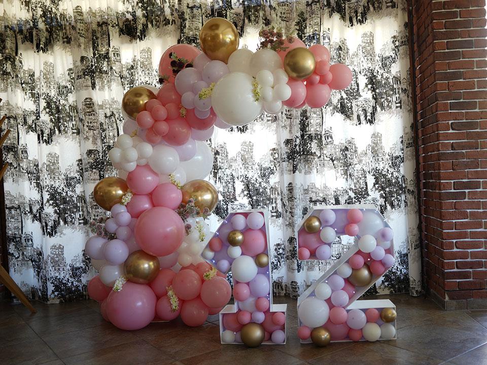 На рожден ден с балони и балонена арка